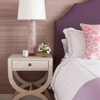 bedroom design purple. Brilliant Purple Purple Headboard With Pink Pillows Throughout Bedroom Design N