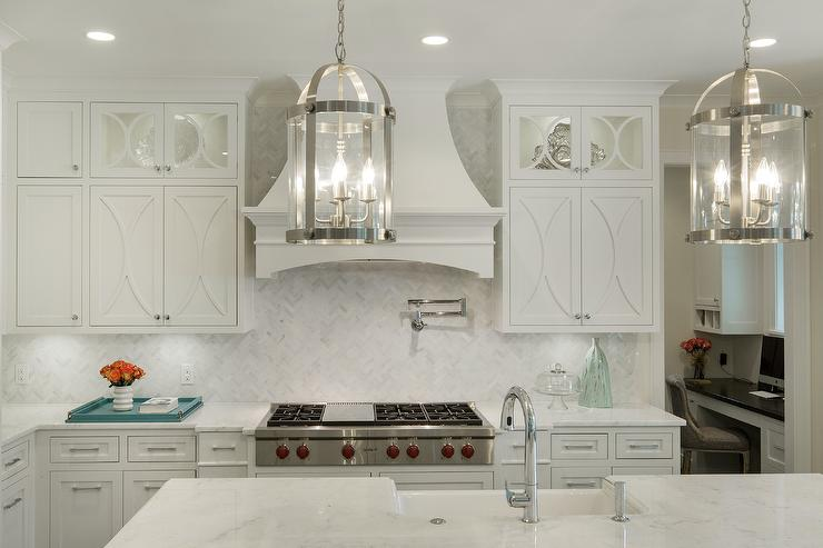 Off White Kitchen Backsplash off white kitchen cabinets design ideas