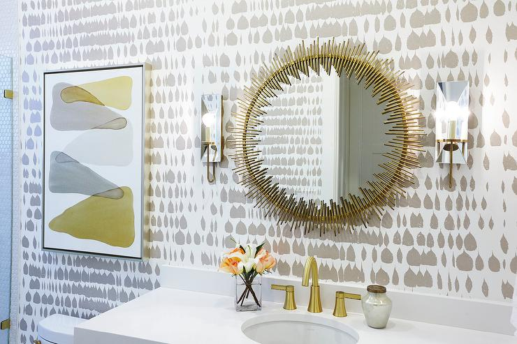 silver gray bathroom ideas gray and gold bathroom design ideas