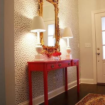 Wall Mount Entry Table Design Ideas