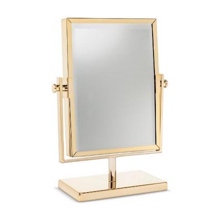 target threshold west emory two sided gold vanity mirror. Black Bedroom Furniture Sets. Home Design Ideas