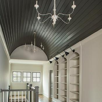 Barrel hall ceiling design ideas for Barrel ceiling ideas