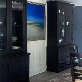 Cabinet Design For Dining Room gold and black dining room cabinet design ideas