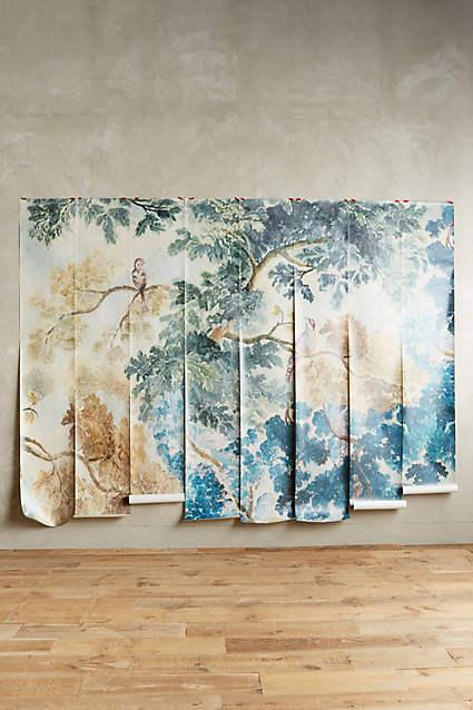 Wall murals custom murals your way mural sizes for Anthropologie mural