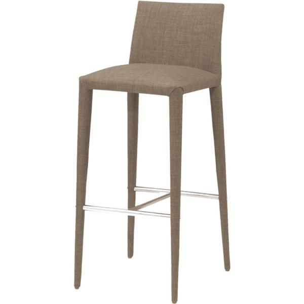 Aurelle classic design brown bar stool - Classic bar counter design ...