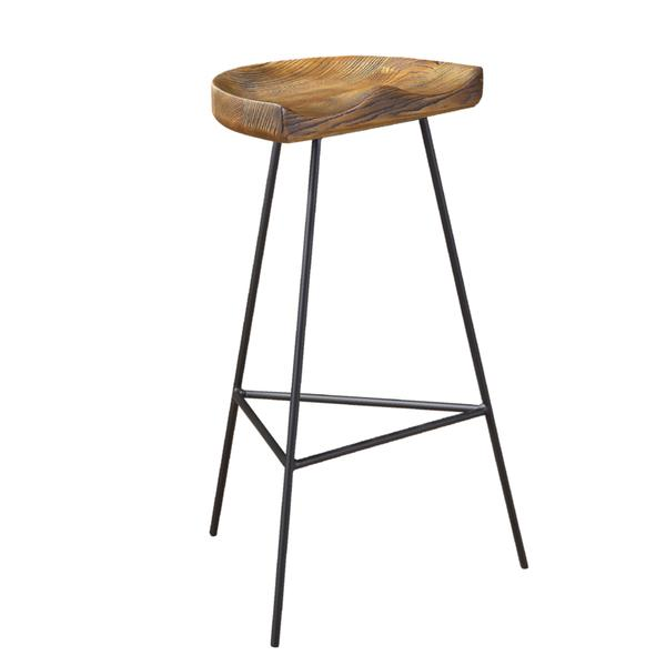 brown style counter stool view full size
