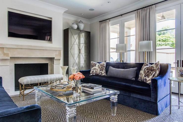 Dallas Living Room By Emily Johnston Larkin Of EJ Interiors