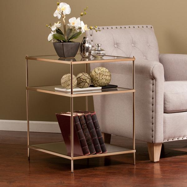 Upton Home Jacana Gold Side Or End Table