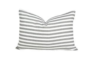 Stripe Gray Pillow