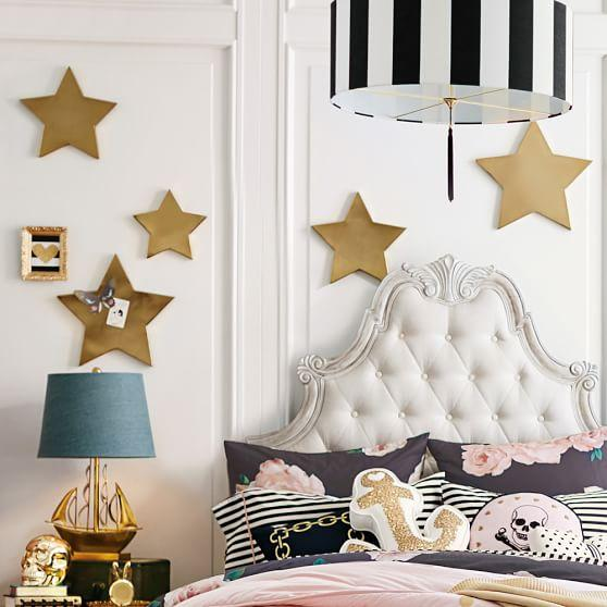 emily and meritt gold star magnets - Star Wall Decor