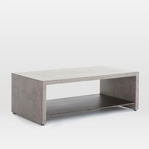 Grey Industrial Concrete Coffee Table