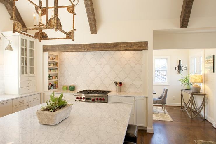 White Kitchen Vent Hood concealed kitchen vent hood design ideas