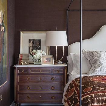 Juju Hats Transitional Bedroom Laura U Interior Design