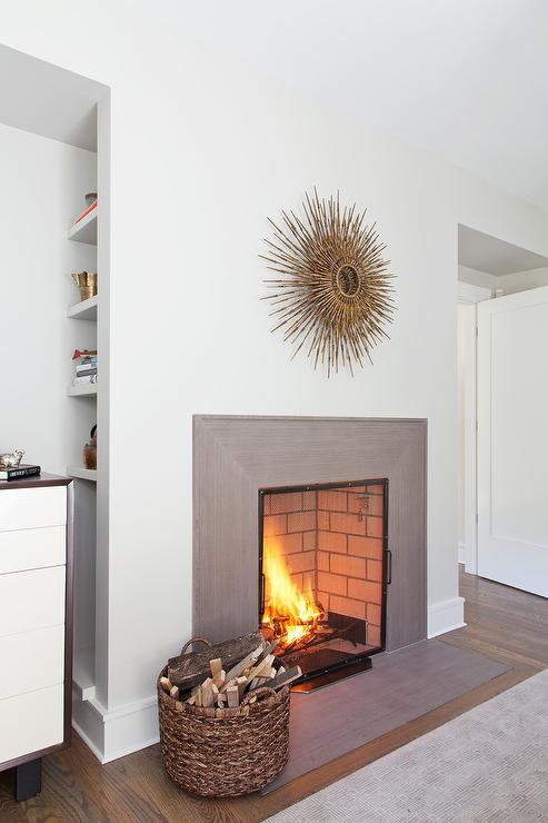 Gray Fireplace Design Ideas