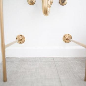 Copper Tubing Sink Legs