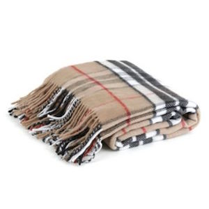Burberry Throw Blanket Look 4 Less And Steals And Deals
