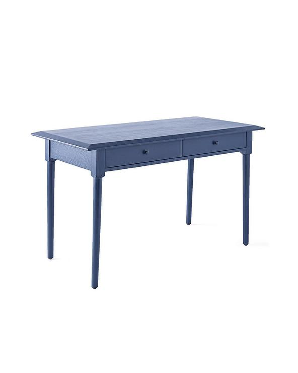 Pamela Navy Blue Writing Desk