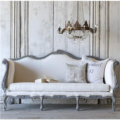 Eloquence Vintage Daybed Louis XV Deep Slate
