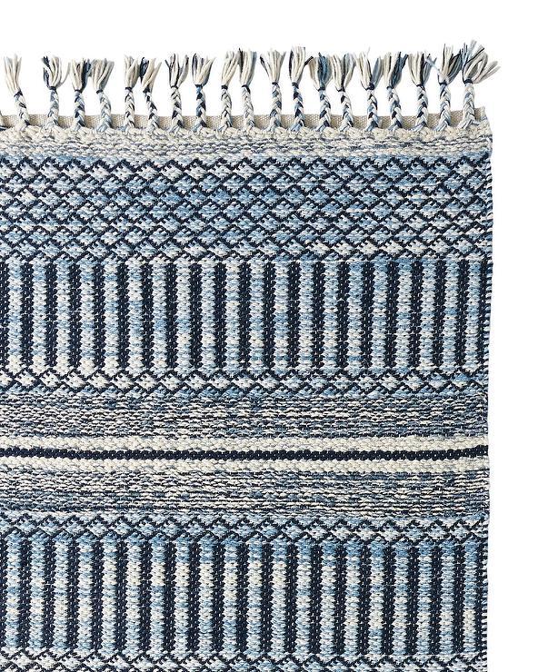Sierra Blue Wool Rug