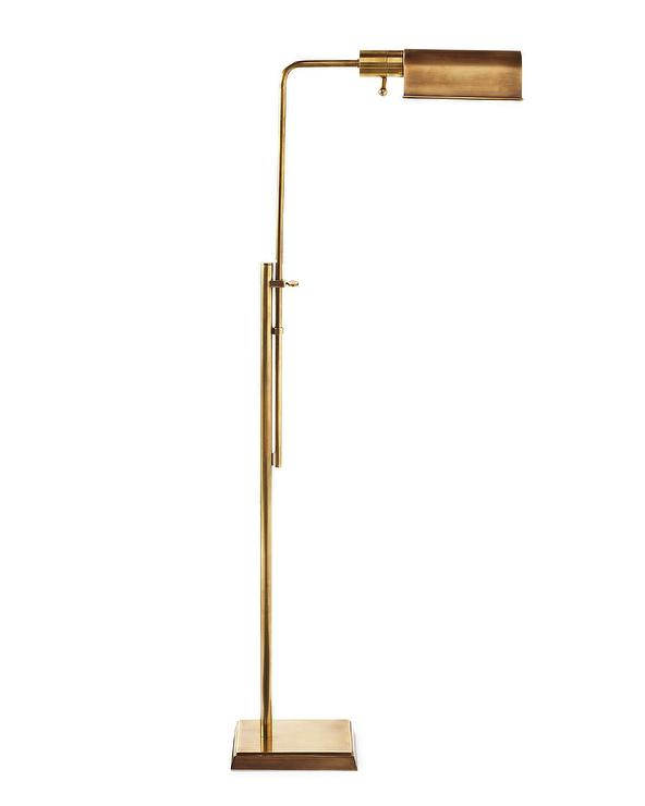 Stewart Gold Floor Lamp