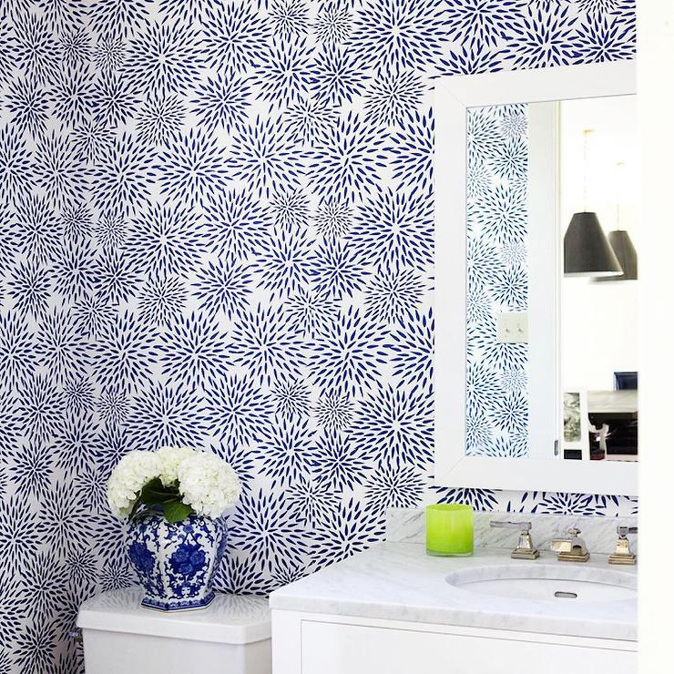 china seas trellis wallpaper