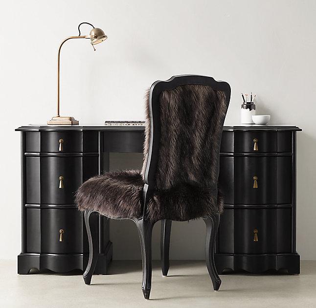 Great Jolie Black Storage Desk