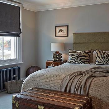Brown Throw Blanket Cottage Bedroom Jeneration Interiors