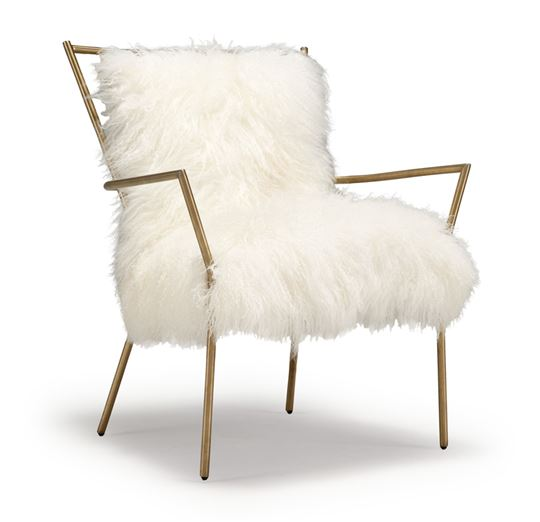 Delightful $1,632.00. Lena Sheepskin Chair