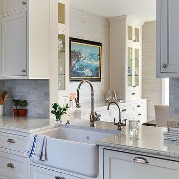 Gray Farmhouse Kitchens Design Ideas