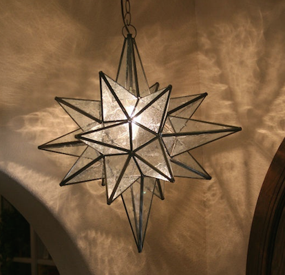 Restoration hardware moravian star pendant look for less view full size aloadofball Image collections