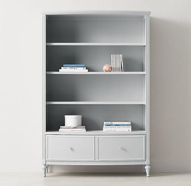 products grey bookcase decorexi open fayence