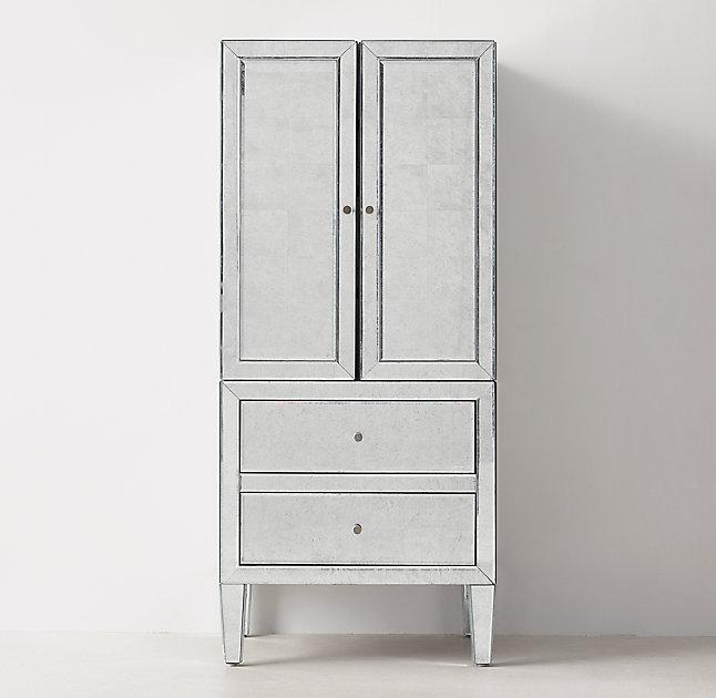 beaumont silver jewelry armoire