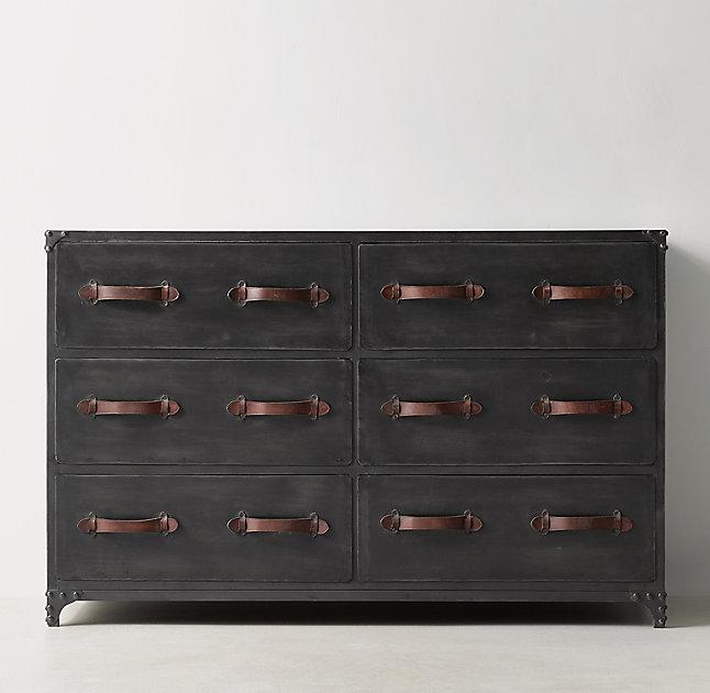 Calvin Black Wide Dresser