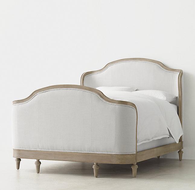 Juliet Dove Upholstered Bed