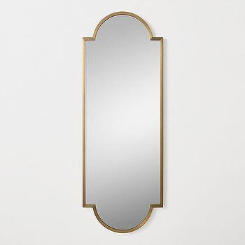 Thin Brass Frame Mirror - Products, bookmarks, design, inspiration ...