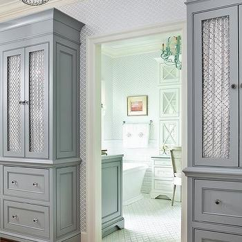 Chicken Wire Cabinets Design Ideas
