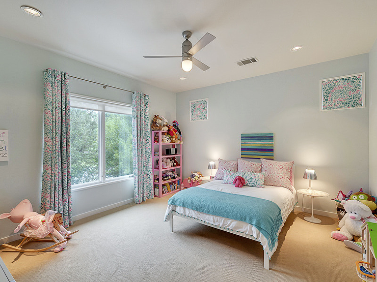pink and blue furniture. pink and blue girl bedroom with bookcase view full size furniture