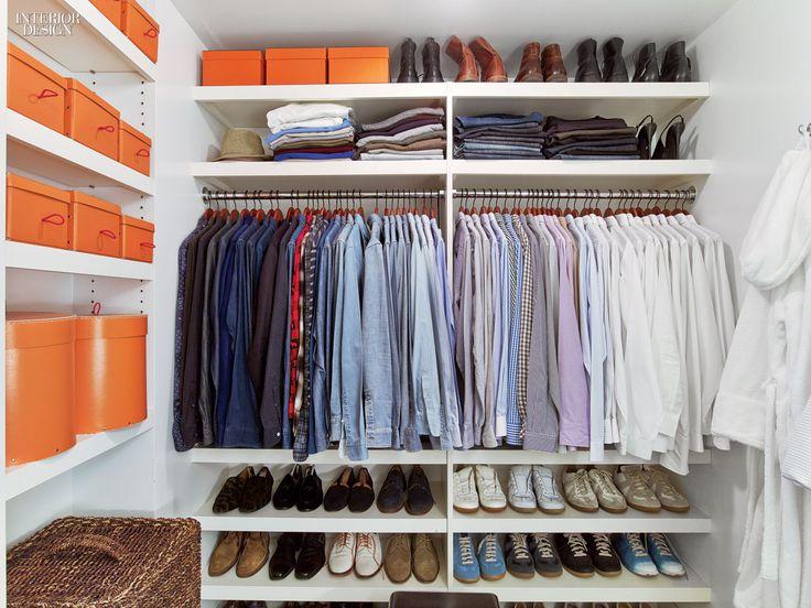 Mens clothes closet