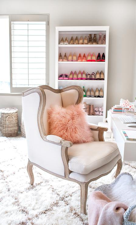 Ordinaire Home Office With Shoe Shelf