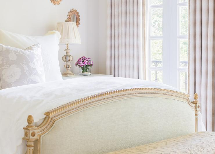 Rosenheck: French Bedroom with Pink Drapes