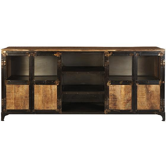 Exceptional Manchester Large Brown TV Stand