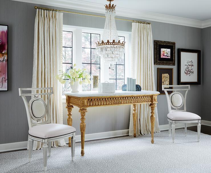 Cream French Pleat Curtains Design Ideas