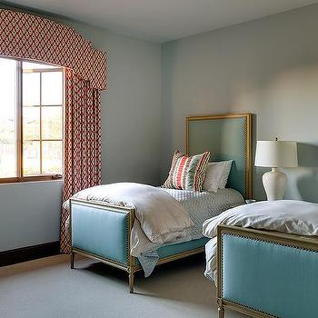 Bedrooms peacock blue cornice box design ideas for Bedroom cornice design