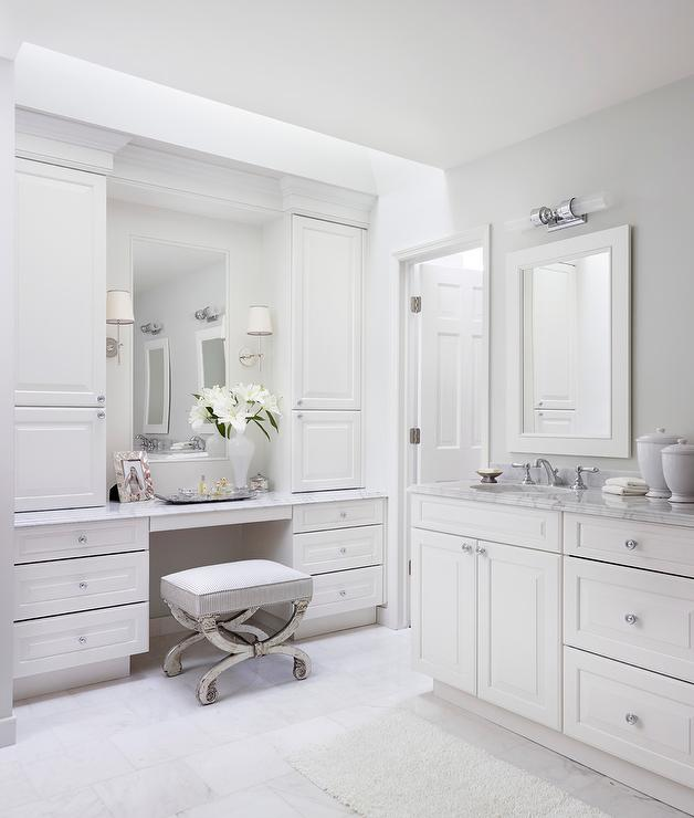 mirrored vanity stool design ideas