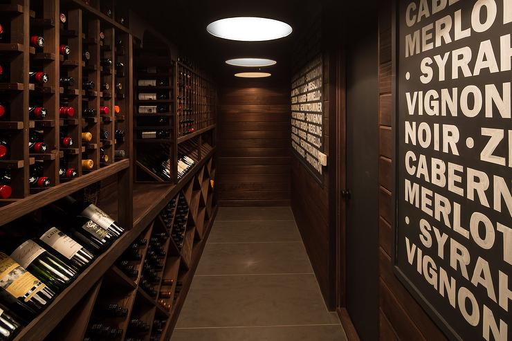 Wine Cellar Ideas Transitional Basement RT Abbott Construction Mesmerizing Basement Wine Cellar Ideas