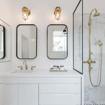 brass bathroom mirrors polished brass vanity mirror design ideas 12158
