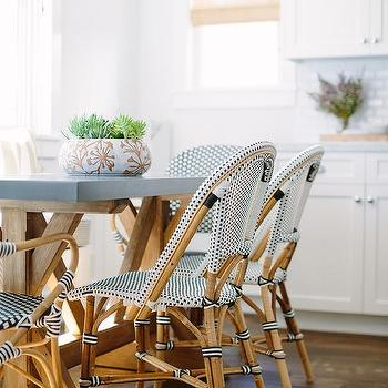 Wood And Concrete Dining Table Design Ideas - Concrete dining table and chairs