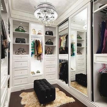 Closet design decor photos pictures ideas inspiration - Walk in closet design ideas ...