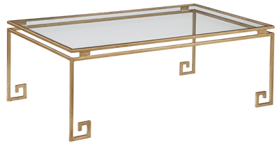 Emerson Bentley Greek Key Cocktail Table View Full Size