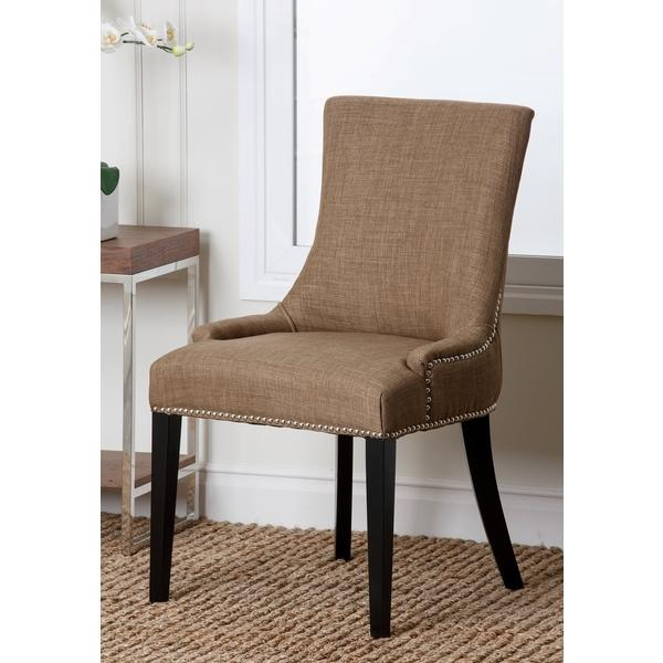 how to add nailhead trim to dining room chairs